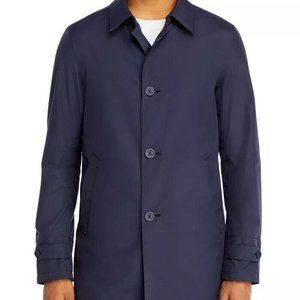 Herno Classic Fit Raincoat & Packable Bucket Hat